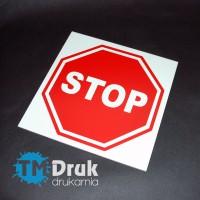 """Znak informacyjny """"STOP"""" (30 x 30 cm)"""