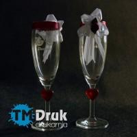 Grawerowane szampanówki na wesele