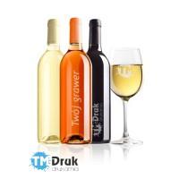 Grawerowanie butelek i lampek do wina
