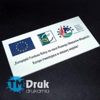 """Tablica unijna """"Rozwój Obszarów Wiejskich, lata 2007 - 2013"""""""