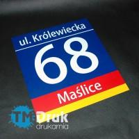 Tabliczka adresowa SIM Wrocław