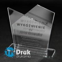 Statuetka z pleksi - Wyróżnienie za uzyskane wyniki w sprzedaży
