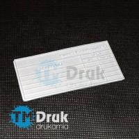 Produkujemy stemple z gumy stemplarskiej do pieczątek na indywidualne zamówienie