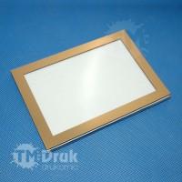 Tabliczka z ramką wykonaną z laminatu - A6 10x14,8 cm